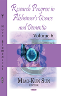 Research Progress in Alzheimer's Disease Vol 6 978-1-63485-172-5
