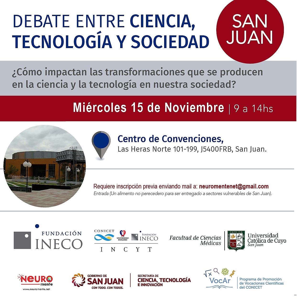 Debate entre Ciencia, Tecnología y Sociedad editado
